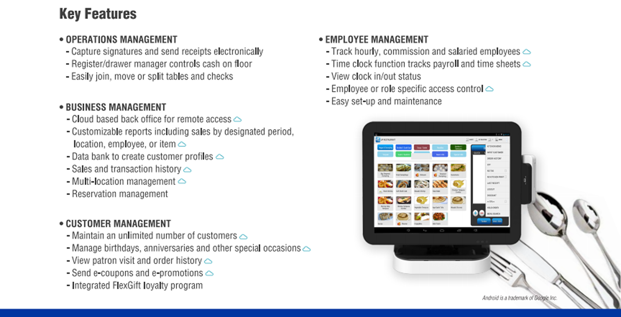 Restaurant Pos Merchant Services Credit Card Terminals